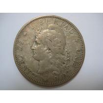 Argentina Moeda Prata - 50 Cents 1882