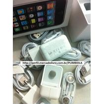 Original Apple Carregador Iphone 5g 4 3 Ipad 4 E Mini Ipod 5
