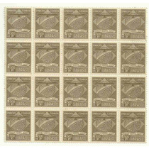 1927 - Condor E Bandeira Estilizados - Novos Mint - Rhm K1
