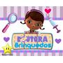Kit De Festa Printable Doutora Brinquedos + Convites Ref 001