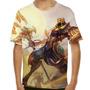 Camiseta League Of Legends Azir Imperador Das Areias Infanti
