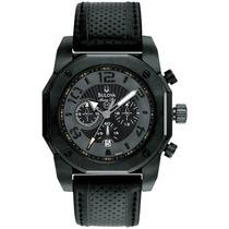 Relógio Bulova 98b151 Marine Star Black Em 12 X Sem Juros