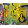 Kit Triplo De Mini Bicicleta E Skate Dedo + Acessorios
