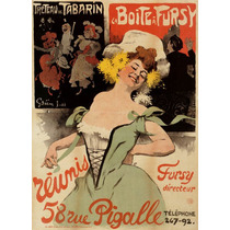 Mulher Rua Posters Vestido Flores Pigalle Poster Repro