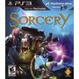 Jogo Sony Sorcery Pra Playstation 3 Ps3 Compativel Com Move