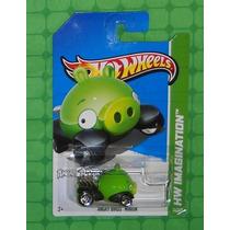 (bx29) Hw Hot Wheels 2013 Angry Birds Minion Porco # Novo