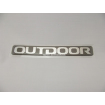 Emblema Adesivo Outdoor L200 Mitsubishi