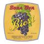 Rótulo Antigo Do Refrigerante Soda Uva Bicri (anos 70)