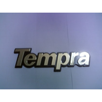 Emblema Tempra (dourado Com Fundo Preto) - Mmf Auto Parts