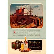 6201- Placa Decorativa Bebida Whisky Philadelphia