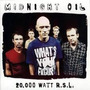 Cd Midnight Oil 20.000 Watt R.s.l.- Cd Usado Original