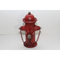 Miniatura Metal Antiga Cofre Hidrante