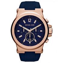Relógio Michael Kors Mk8295 Azul Original - Frete Gratis