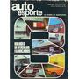 Auto Esporte N°83 Setembro 1971 Opala Coupe Ss / Gran Luxo