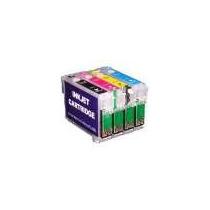 Cartuchos Recarregáveis C/ Chip Full Tx125 Tx123 T25 Tx420