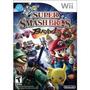 Super Smash Bros Wii Jogo Americano Lacrado,envio Imediato