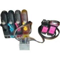 5 Kits De Reservatório Externo Rocket P/ Bulk Ink De 4 Cores