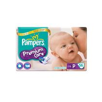 Fralda Pampers Premium Care Mega Pack - Tam: P - 56 Unidades