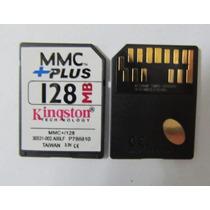 Cartão De Memória Mmc+plus 128mb Multmediacardplus Kingston