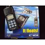 Rádio De Comunicação Icom Vhf Portatil - Ic M34 - Flutuante