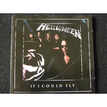 Helloween If I Could Fly Cd Made Germany Metallica Manowar