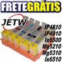 Cartucho Recarregável Ip4810 Mg5210 Chip Full Frete Gratis