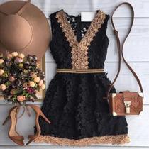 Vestido Elegante Mulher (frete Grátis)