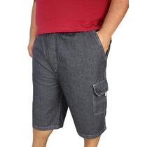 Bermuda Jeans Masculina Plus Size Nº 50 Ao Nº 68