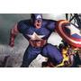 Fantasia Infantil Longa Capitão América Vingadores 2 Promoçã