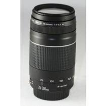 Lente Canon Ef 75-300mm F/4-5.6 Iii Nova! Pronta Entrega