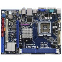 Placa Mae Asrock G41m-vs3 Intel + Ich7 Chipset 775 Sp Retira