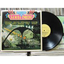 Apoteose Do Samba Enredo Varias Escolas - Lp Emi Odeon