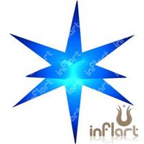 Sputnik 11 Pontas P Completo - Inflável, Estrela, Neon, Led
