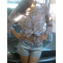 Camisa Feminina Estampada 42