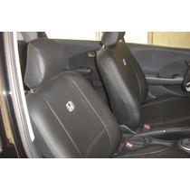 Capas Automotivas De Courvin Igual Banco De Couro Honda Fit
