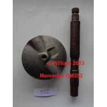 Borboleta C/ Eixo Freio Motor Mercedes Motor 352