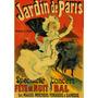 Jardim De Paris Correto Pessoas Mulher Leque Poster Repro