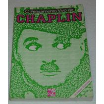 O Pensamento Vivo De Chaplin Editora Martin Claret Livro -