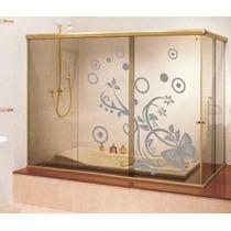 Adesivos Jateados - Ambientes, Vidro, Vitrine, Espelho E Box