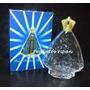 3 Vidros Nossa Senhora Aparecida Para Água Benta Ou Perfume