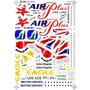 Fcm Decais-set Decais Airbus A31-320 British Airways-fokker