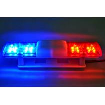 Rc Car Polícia 105 X 24mm 360 Graus De Rotação Led Luz