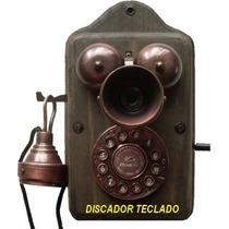 Telefone Antigo Pitoco Discador Teclado