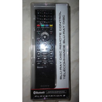 Controle Remoto Blu Ray Playstation 3 Original Sony Novo