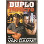 Dvd Duplo Impacto - Van Damme - Novo***
