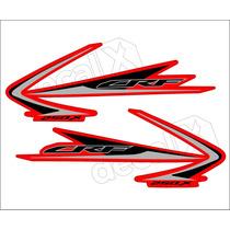 Kit Adesivos Crf 250x 2009 À 2010 Resinado - Decalx