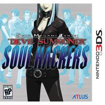 Devil Summoner Soul Hackers Jogo + Cd - Nintendo 3ds Lacrado