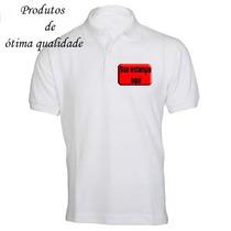 Camisas Personalizadas Gola Pólo - (frete Grátis!)
