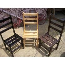 Cadeiras Maciças Direto Da Fábrica Alta Resistência