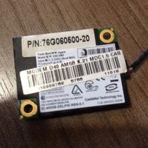 Placa Modem + Rede Do Notebook Cce Win E45le Original Usada